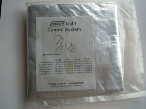 "Fidelity Light Control System Silver Fabric reflector 42""x42"""